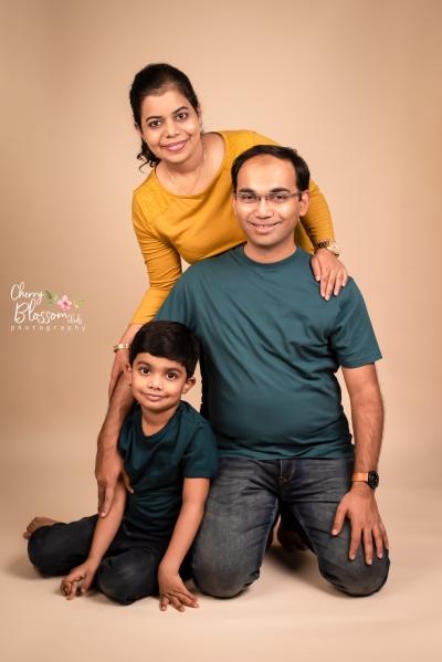 ANURAV & FAMILY